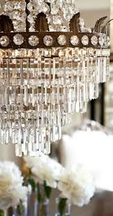 Adding Crystals To Chandelier Vintage French Soul Pretty Chandelier Would Be Perfect For Above