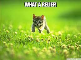 Relief Meme - a relief