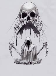 death skull tattoo design photo 1 photo pictures and sketches
