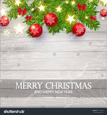 merry christmas background red transparent glass stock vector