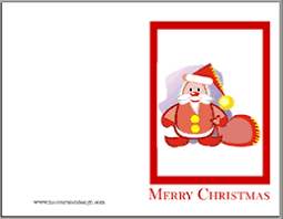 christmas card printouts christmas lights card decore