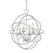 brushed nickel chandelier with crystals capiz pendant chandelier kichler lighting vivian 1902 in 4 light