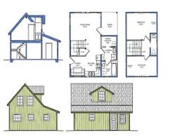 40 tiny house floor plans with loft small cottage floor plan with