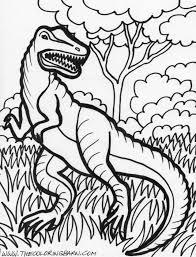 velociraptor coloring kids coloring