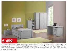 chevet chambre meubles toff promotion chambre de garde robe 3p lit ip