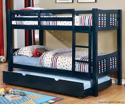 Cameron Blue Bunk Bed CMBKBL Furniture Of America Kids And - Furniture of america bunk beds