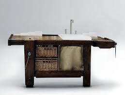 Rustic Bathroom Furniture Rexa Design Transforms A Bench In A Rustic Furniture Interior