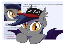 Top Gun Hat Meme - 407725 artist equestria prevails baseball cap bat pony cute