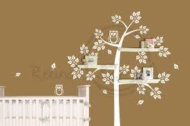 Nursery Tree Wall Decal by Tree Wall Art Baby Nursery Wallartideas Info