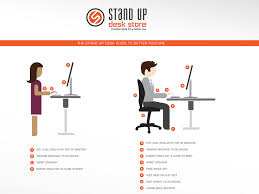 proper standing desk posture workstation ergonomics