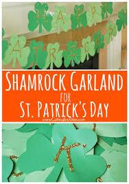 best leprechaun and shamrock crafts onecreativemommy com