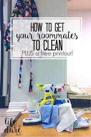 How To Have A Clean Bedroom Your Guide To Cleaning With Roommates Chore List Roommate And