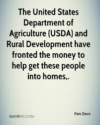 Rural Development Usda Pam Davis Quotes Quotehd