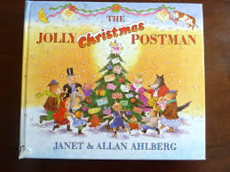 shelf jolly christmas postman book studio