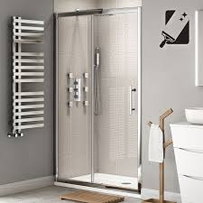 1200mm Shower Door 8mm Premium Easyclean Sliding Shower Door