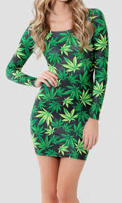 weed dress chill long sleeve women the higher shop