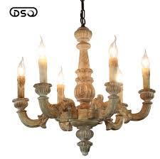 Wohnzimmer Lampe Holz Vintage Amercian Rustikalen Holz Kronleuchter Lampe Wohnzimmer