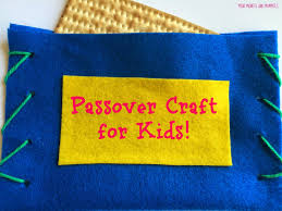 mini monets and mommies hide the afikomen pouch passover craft