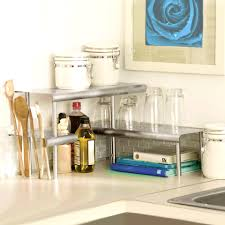 kitchen counter storage ideas dazzling bathroom counter organizer counter shelves diy storage