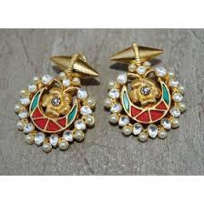 chandbali earrings online buy chand bali earrings online at orne jewels