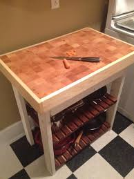 Kitchen Island Chopping Block Ana White Kitchen Island Butcher Block Diy Projects