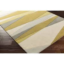 Green And Brown Area Rugs Modern Hand Woven Area Rugs Allmodern
