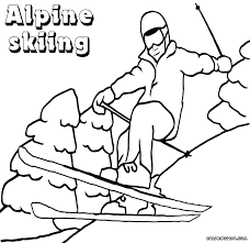 winter sport coloring pages coloring pages to download and print