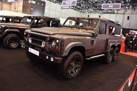 new land rover defender 2016 a kahn design builds land rover defender based 6x6 live photos