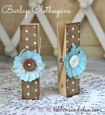 how to make simple clothespin decor