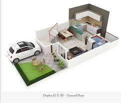 28 450 sq ft floor plan floor plans for 450 sq ft 450 square feet double floor duplex home plan homes in kerala india