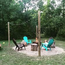 Backyard Firepit Ideas Best 25 Farmhouse Fire Pits Ideas On Pinterest Farmhouse Deck