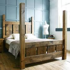 Solid Wood Bed Frames Uk 8 Best Handmade Wooden Bed Frames Uk Images On Pinterest Wood