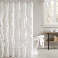 Shower Curtains White Fabric Shower Curtains White Fabric Inspiration With Wholesale Solid