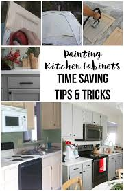 tips for painting cabinets how to paint oak cabinets the easy way time saving tips and tricks