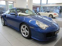 used porsche 911 uk used porsche 911 2003 model turbo 996 2dr coupe petrol blue for
