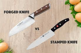 forged kitchen knives forged vs sted knives the distinctions