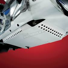 show chrome aluminum belly pan 52 817 motorcycle goldwing