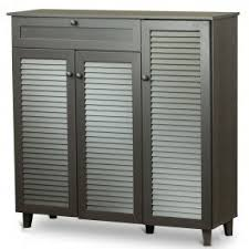 shoe storage cabinets with doors foter