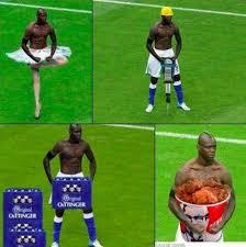 Mario Balotelli Meme - mario balotelli parodia esultanza diventa meme
