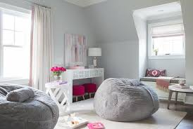 Gray And Pink Bedroom by Pink And Gray Teen Bedroom Design Contemporary U0027s Room