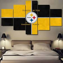 steelers home decor buy pittsburgh steelers picture and get free shipping on