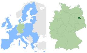 berlin germany world map location of germany on world map
