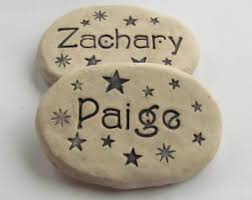 personalized garden stones for yard garden outdoors home