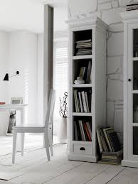 tall narrow bookcase for small rooms