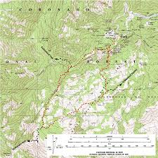 Mt Lemmon Hiking Trails Map Trail Talk Keeping Cool In The Wilderness Of Rocks