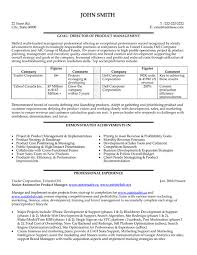 Product Manager Resume Samples by Production Manager Resume Sample