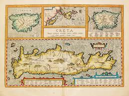 Corsica Map Antiquemaps Fair Map View Rare Antique Map Corsica Creta