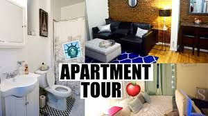 nyc one bedroom apartment tour youtube