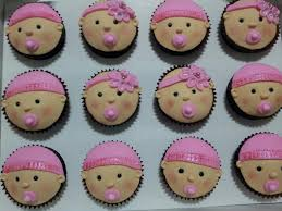baby shower cupcake idea baby face baby shower diy