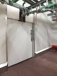 porte isotherme chambre froide systèmes des portes heboma martin hennes kg